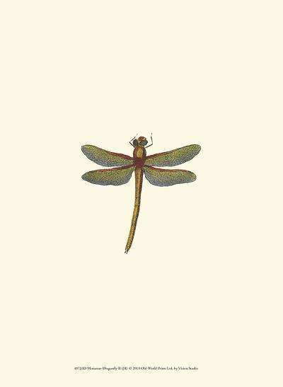 Miniature Dragonfly II--Art Print