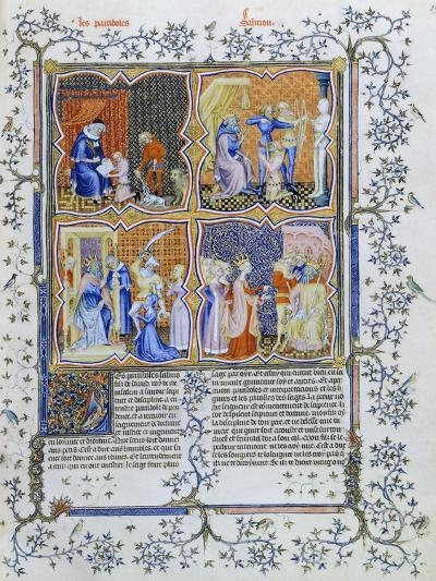 Miniature from a French Bible--Giclee Print