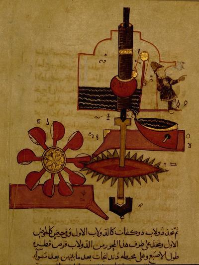 Miniature from a Mamluk Copy of the 'Automata of Al Jaziri' or the 'Book of Knowledge of…--Giclee Print