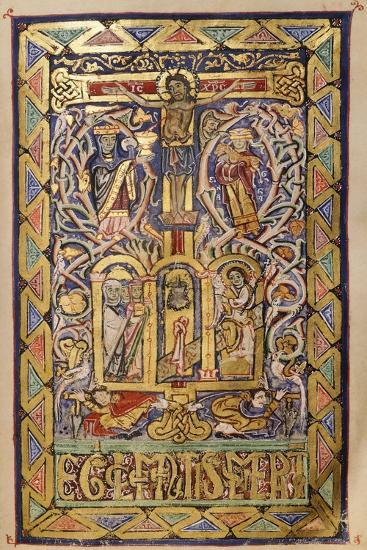 Miniature from a Missal, 12th Century--Giclee Print