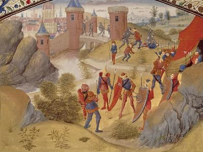 Miniature from Tales of the Crusades, Manuscript--Giclee Print
