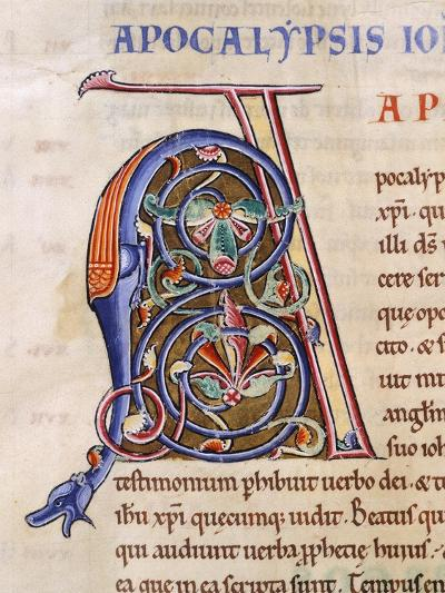 Miniature from the Latin Bible, Manuscript--Giclee Print