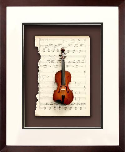 Miniature Instruments - Violin--Dimensional Product