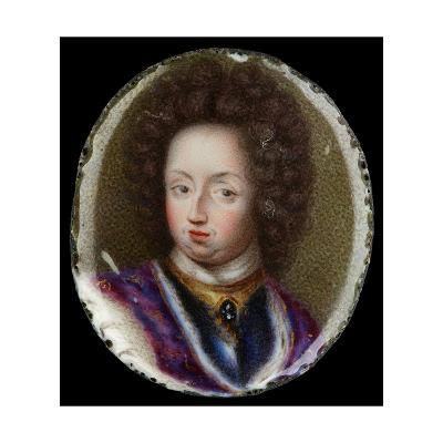 Miniature of Charles XI, King of Sweden, 1690-Erik Utterhielm-Giclee Print