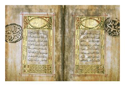 Miniature Qur'An--Giclee Print