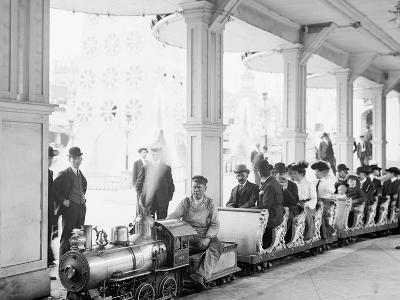 Miniature Railway, Coney Island, New York--Photo