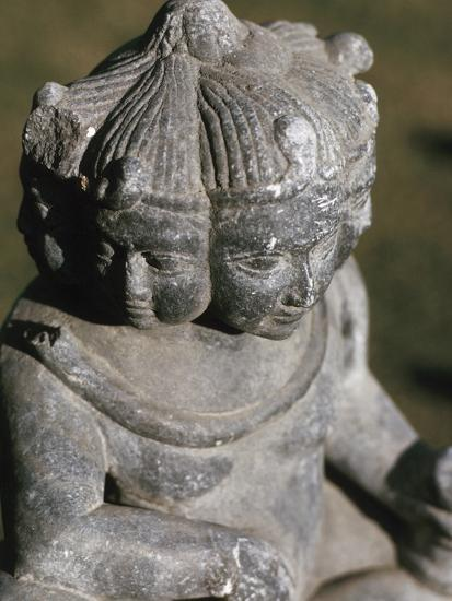 Miniature Religious Hindu Sculpture--Photographic Print