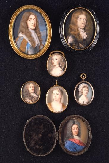 Miniatures from Ltor and Ttob: James, Duke of York, 1661--Giclee Print
