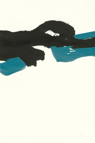 Minimal Panel II Teal-Chris Paschke-Art Print