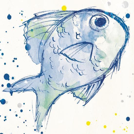 Minimal Sketch Fish-Milli Villa-Art Print