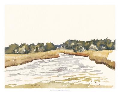 Minimalist Coastline II-Dianne Miller-Art Print