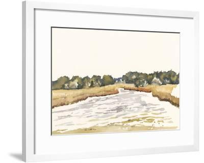 Minimalist Coastline II-Dianne Miller-Framed Art Print