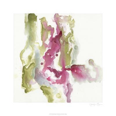 Minimalist Fuchsia I-Jennifer Goldberger-Limited Edition