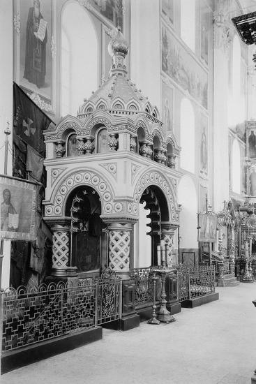 Minin's Tomb in the Saviour Cathedral in the Nizhny Novgorod Kremlin, Russia, 1896-Maxim Dmitriev-Giclee Print