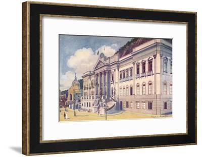 'Ministry of Agriculture, Industry and Commerce, Praia Vermelha', 1914-Edgar L Pattison-Framed Giclee Print
