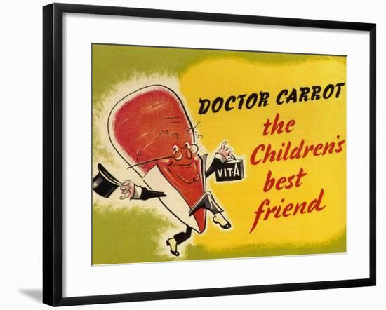 Ministry of Food Poster, c.1940-English School-Framed Giclee Print