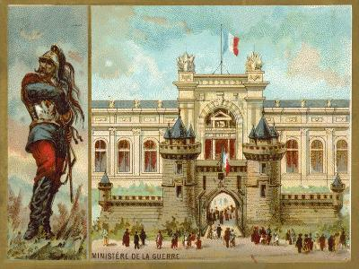Ministry of War, Paris--Giclee Print