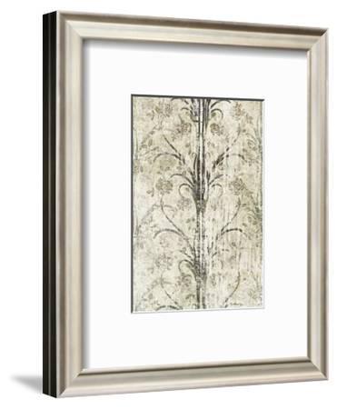 Mink Brocade III-Mali Nave-Framed Art Print