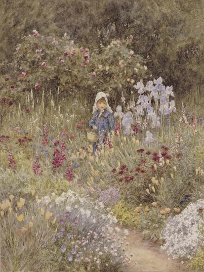 Minna, Illustration to 'Happy England' by Marcus Huish, Pub. by a and C Black, 1904-Helen Allingham-Giclee Print