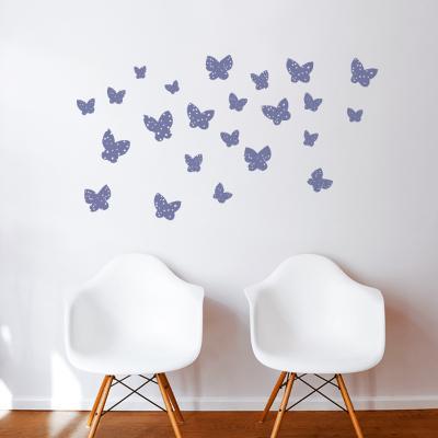 Minna (plum) Wall Decal--Wall Decal