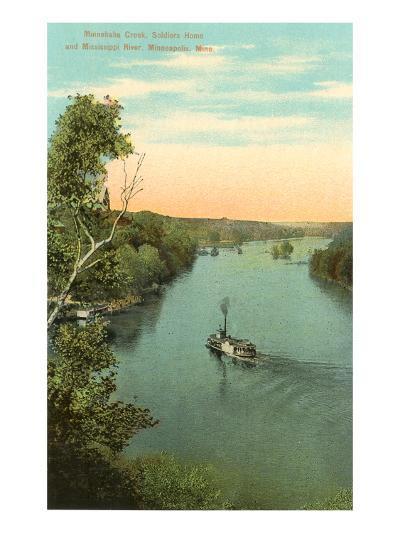 Minnehaha Creek, Minneapolis, Minnesota--Art Print
