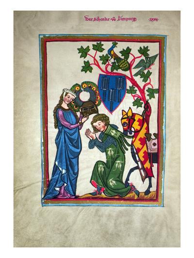 Minnesinger, 14Th Century--Giclee Print