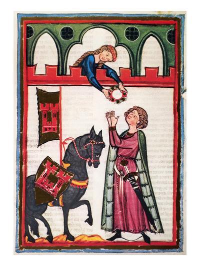 Minnesinger Lieder--Giclee Print