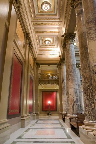 Minnesota Capitol Corridor-jrferrermn-Photographic Print
