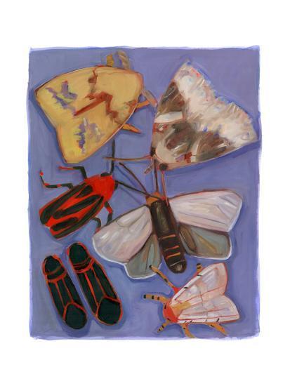 Minnesota Moths and Box Elders-Megan Moore-Giclee Print