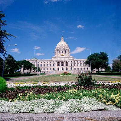 Minnesota State Capitol Building, St. Paul, Minnesota-Bernard Friel-Photographic Print