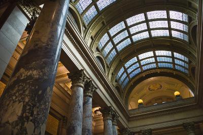 Minnesota State Capitol Interior, Stpaul, Minneapolis, Minnesota, USA-Walter Bibikow-Photographic Print