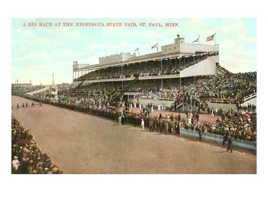 Minnesota State Fair, St. Paul, Minnesota--Art Print