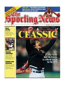Minnesota Twins P Jack Morris - World Series Champions - November 4, 1991