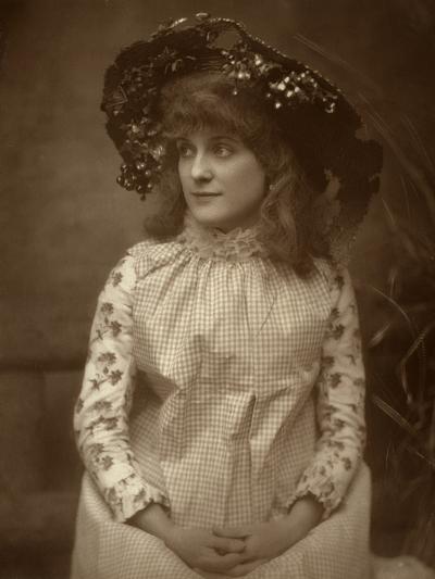 Minnie Palmer, American Actress, 1884-Samuel A Walker-Photographic Print