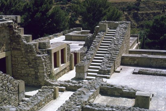 Minoan Royal palace at Knossos on Crete-Unknown-Photographic Print