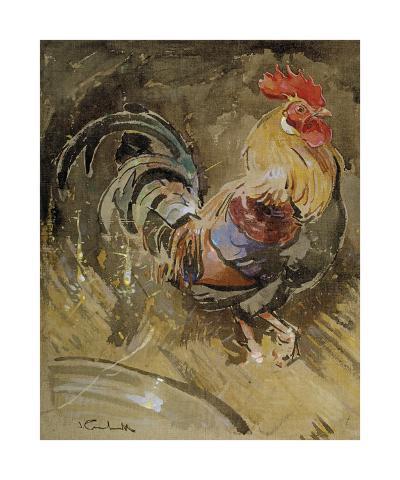 Minorca Cock-Joseph Crawhall-Premium Giclee Print