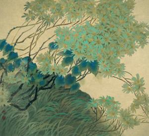 Chrysanthemums in Autumn by Minrong Wu