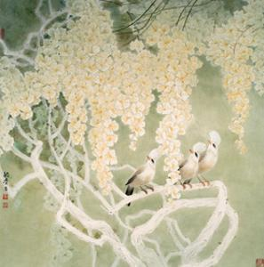 Glorious Spring by Minrong Wu