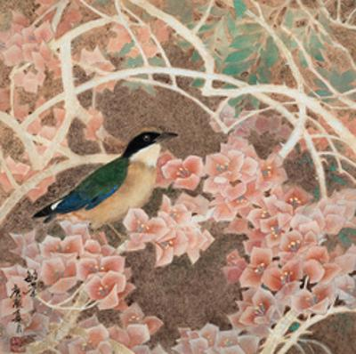 Lifespring - Japanese Blue-winged Pitta by Minrong Wu