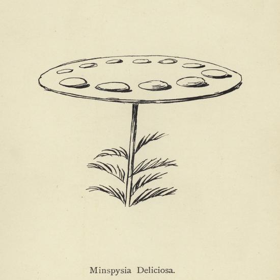 Minspysia Deliciosa-Edward Lear-Giclee Print