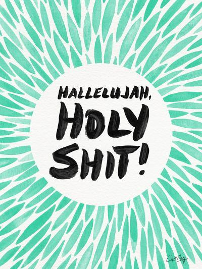 Mint Hallelujah Holy Shit-Cat Coquillette-Giclee Print