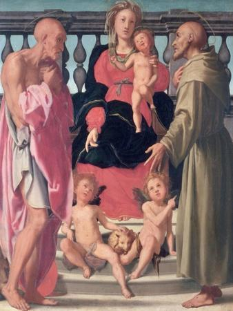 Madonna and Child with Ss. Jerome and Francis