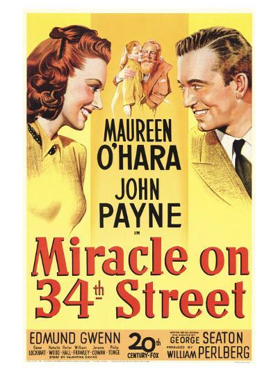 Miracle On 34th Street, 1947--Art Print