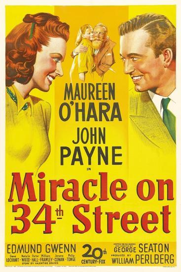 Miracle on 34th Street, 1947--Giclee Print