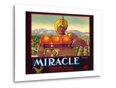 Miracle Orange Label