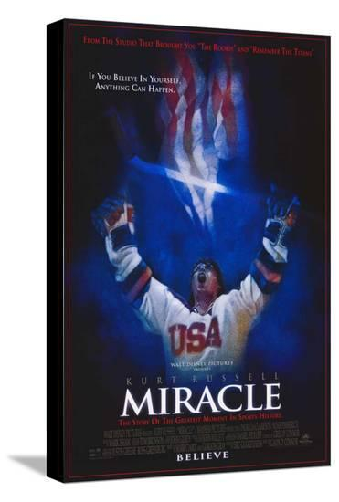 Miracle--Stretched Canvas Print