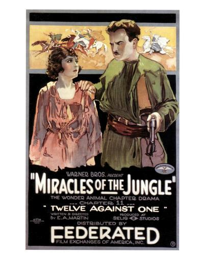 Miracles Of The Jungle - 1921--Giclee Print
