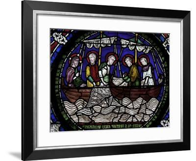 Miraculous Draught of Fishes, Canterbury Cathedral, UNESCO World Heritage Site, Canterbury, England-Peter Barritt-Framed Photographic Print
