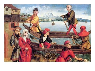 Miraculous Salvation of a Drowned Boy-Albrecht D?rer-Art Print