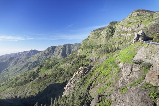 Mirador De Roques, Degollada De Agando, La Gomera, Canary Islands, Spain, Europe-Markus Lange-Photographic Print
